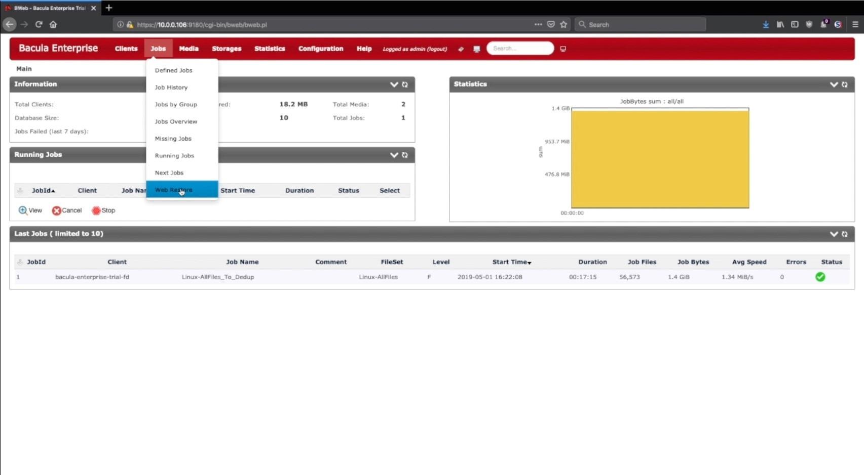 bweb management suite
